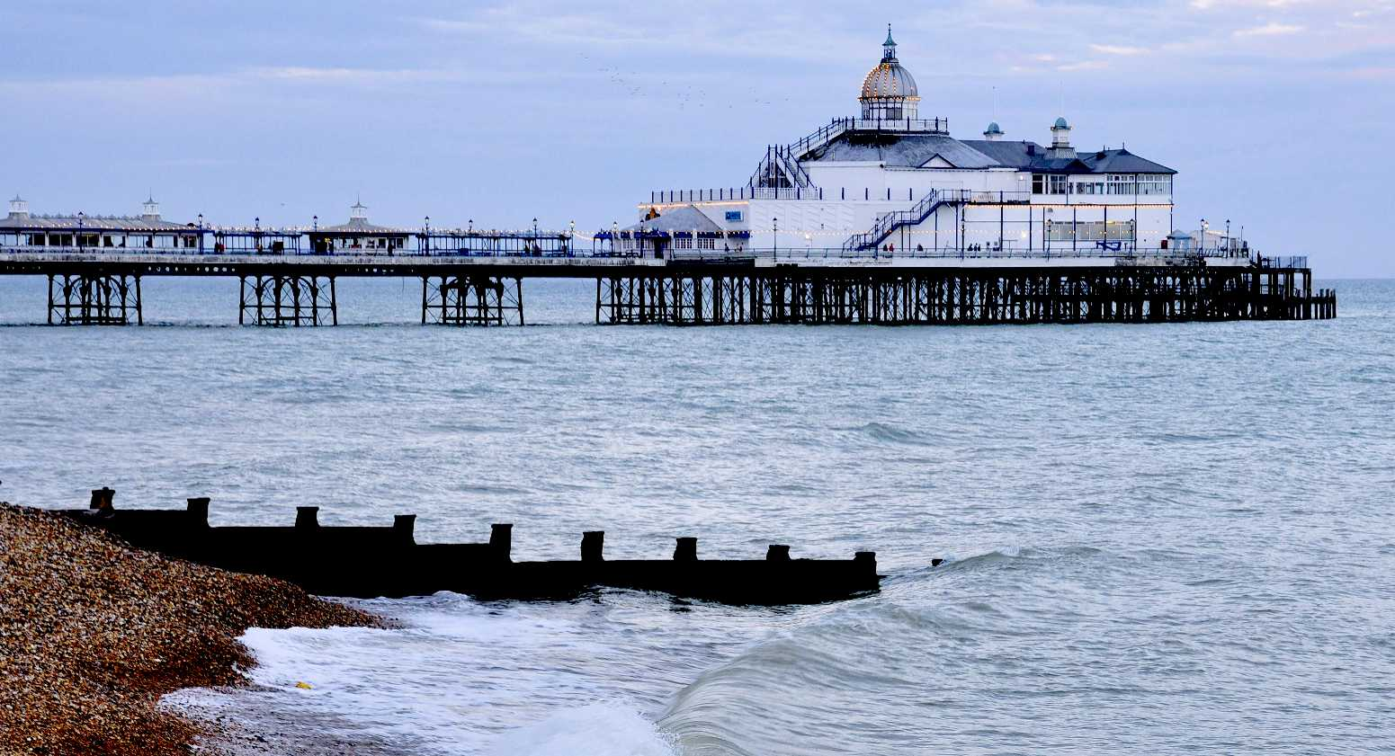 Eastbourne Pier is a monument at risk