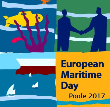 Logo for Poole European Maritime Day 2017